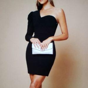 Shoulder Sleeve Dress